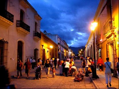 Oaxaca streetscape