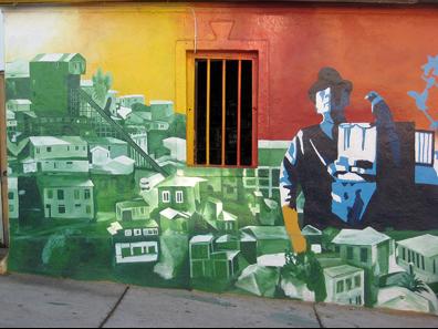 Valparaíso mural